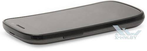 Google Nexus S. Левый торец