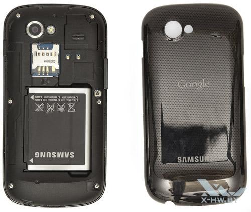 Google Nexus S со снятой крышкой