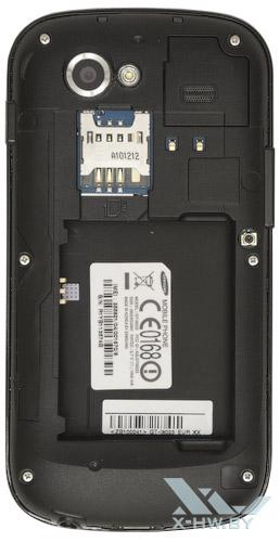 Google Nexus S со снятым аккумулятором