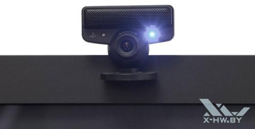 Камера PlayStation Move на телевизоре