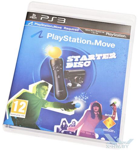 Демо-диск с играми для PlayStation Move