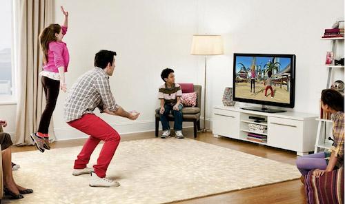 Игра с Microsoft Kinect