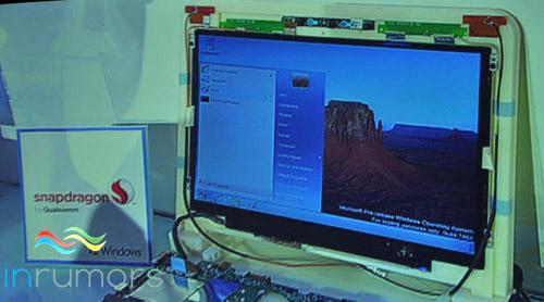 Windows 8, запущенная на ARM-процессоре