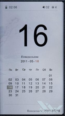Календарь WEXLER.BOOK T7001