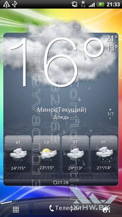 Интерфейс на HTC Sensation. Рис. 5