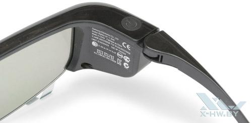 Маркировка на 3D-очках Samsung T23A750