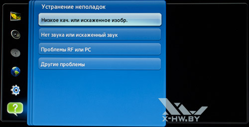 Устранение неполадок на Samsung T23A750. Рис. 1