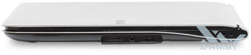 Открытые разъемы на правом торце Samsung 900X3A