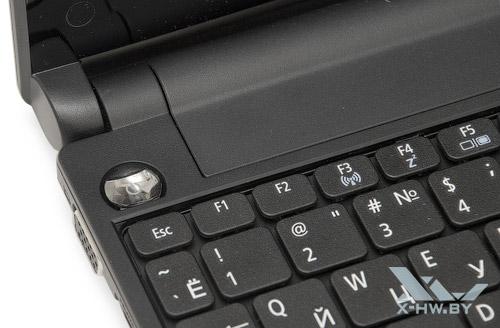 Кнопка включения и выключения Acer Aspire One 521