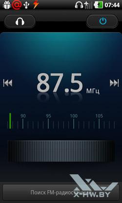 FM-радио LG Optimus Black P970