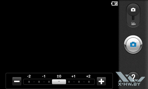 Настройки камеры LG Optimus Black P970. Рис. 3