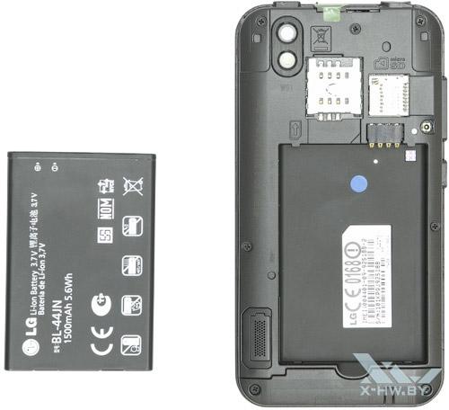 Аккумулятор LG Optimus Black P970