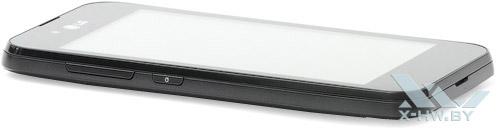Левый торец LG Optimus Black P970