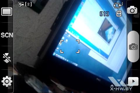 Параметры камеры Samsung Galaxy Ace. Рис. 1