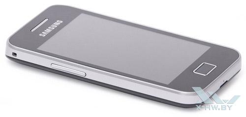 Левый торец Samsung Galaxy Ace