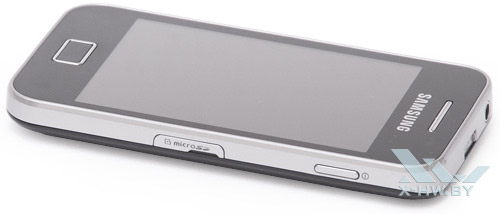 Правый торец Samsung Galaxy Ace