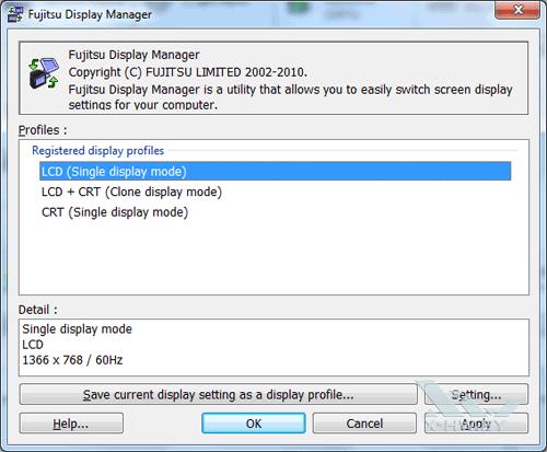 Fujitsu Display Manager