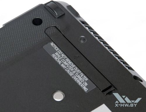 Фильтр на днище Fujitsu LIFEBOOK S761