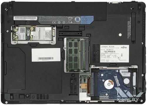 Возможность обновления Fujitsu LIFEBOOK S761
