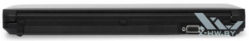 Задний торец Fujitsu LIFEBOOK S761