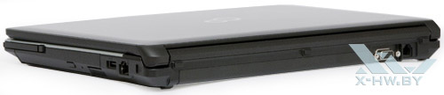 Fujitsu LIFEBOOK S761. Вид сзади