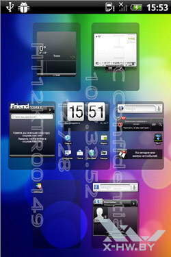 Рабочий стол HTC Wildfire S. Рис. 4