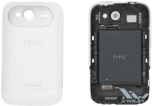 HTC Wildfire S без крышки