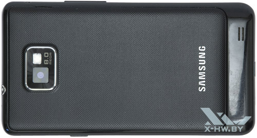 Samsung Galaxy S II. Вид снизу