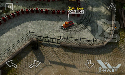 Reckless Racing на ZTE V9. Рис. 3
