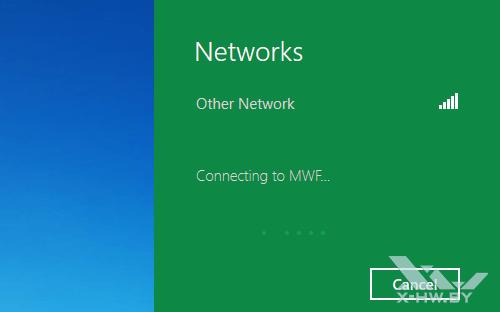 Подключение к точке доступа в Windows Developer Preview