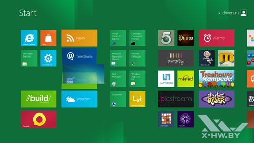 Перемещение тайлов в стартовом экране Metro в Windows Developer Preview