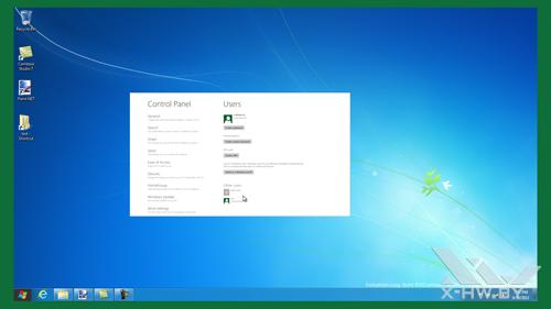Переключение на приложение Metro в Windows Developer Preview