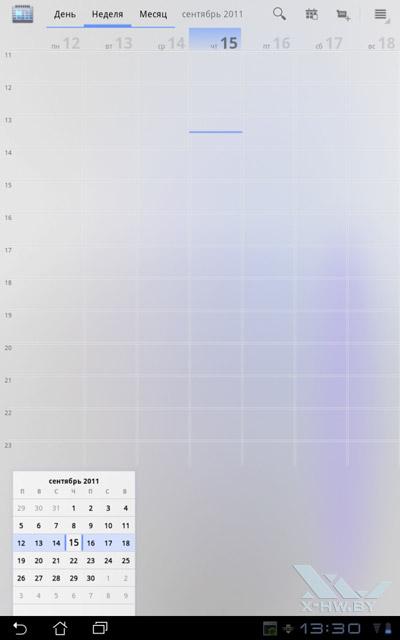 Календарь ASUS Eee Pad Transformer TF101. Рис. 1