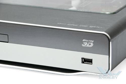 USB-разъем на лицевой панели Philips BDP9600