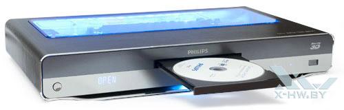 Открытый лоток привода Philips BDP9600 с подсветкой