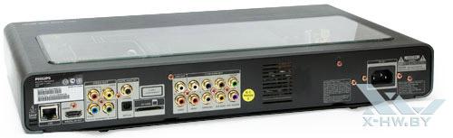 Philips BDP9600. Вид сзади