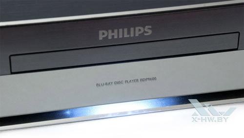 Подсветка под лотком привода Philips BDP9600