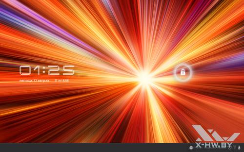 Экран блокировки Samsung Galaxy Tab 10.1