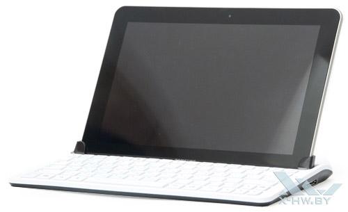 Samsung Galaxy Tab 10.1 в док-станции
