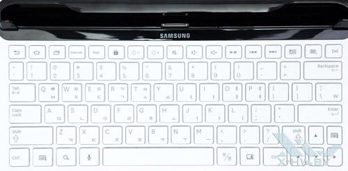 Раскладка клавиатуры док-станции Samsung Galaxy Tab 10.1