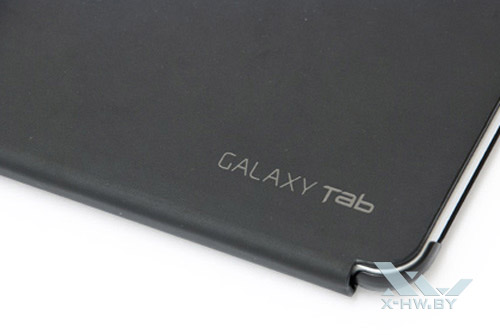 Логотип Samsung Galaxy Tab 10.1 на чехле