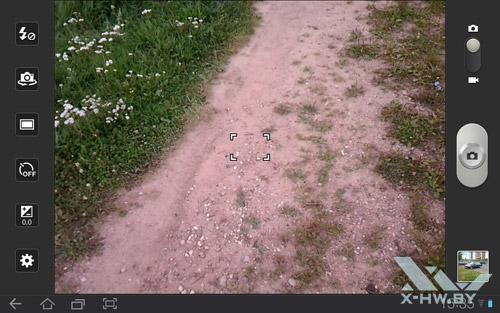 Приложение камеры на Samsung Galaxy Tab 10.1