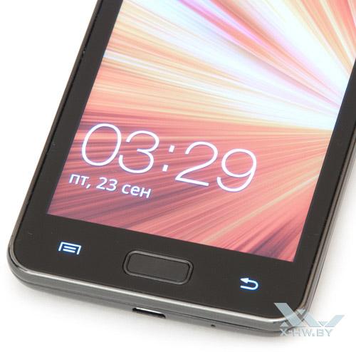 Подсвеченные кнопки Samsung Galaxy R
