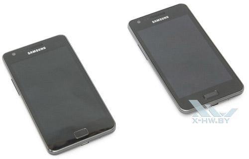Samsung Galaxy R и Samsung Galaxy S II