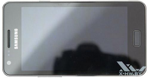 Samsung Galaxy R. Вид сверху