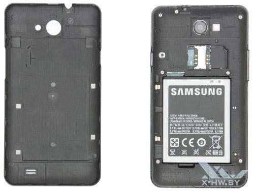 Раскрытый Samsung Galaxy R