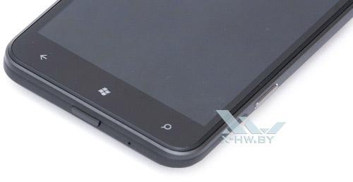 Кнопки управления HTC Titan