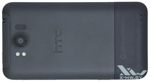 Задняя сторона HTC Titan