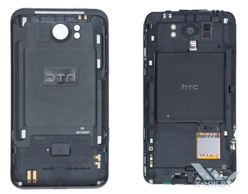 Раскрытый HTC Titan