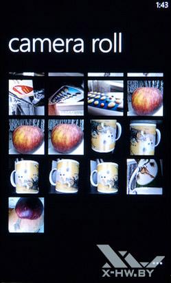 Галерея на HTC Titan. Рис. 2